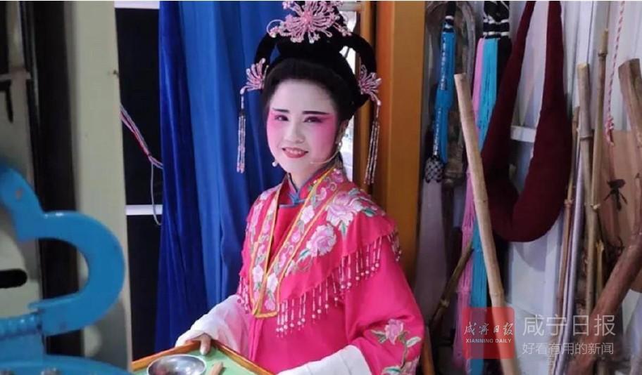 崇阳95后提琴戏女演员柳金燕——乐当老腔老调传承人